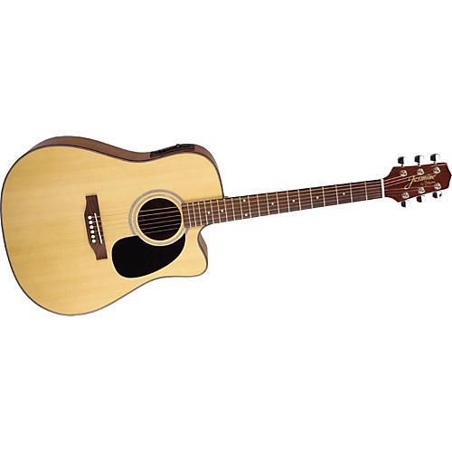 Jasmine Jasmine Series ES33C Dreadnought Acoustic-Electric Guitar-thumbnail