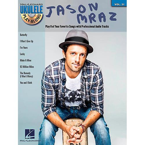 Hal Leonard Jason Mraz - Ukulele Play-Along Vol. 31 Book/CD thumbnail