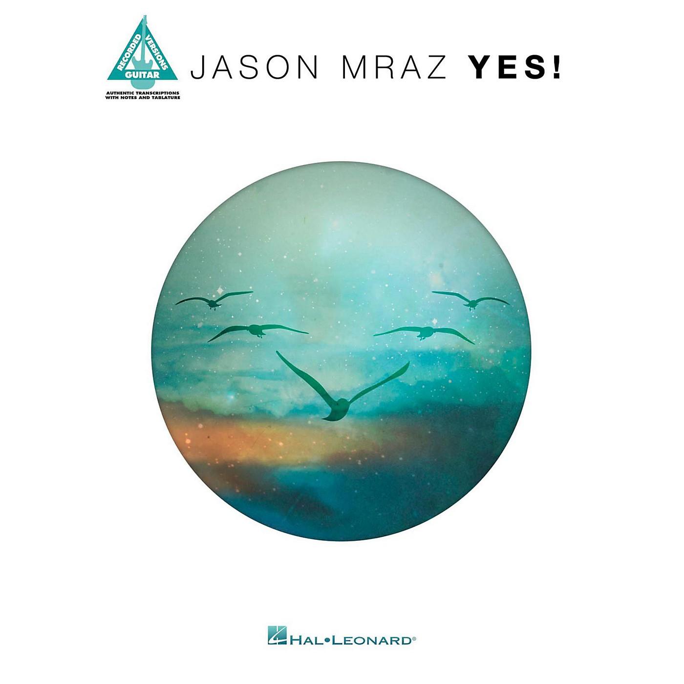 Hal Leonard Jason Mraz - Yes for Guitar Tab thumbnail