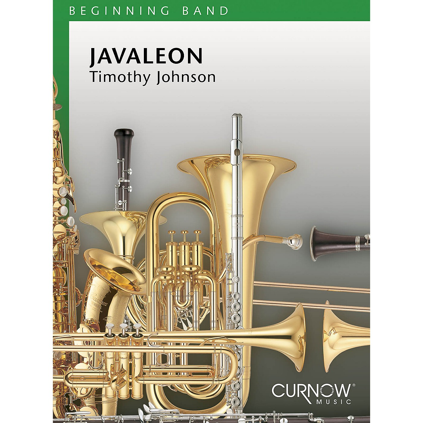 Curnow Music Javaleon (Grade 1.5 - Score Only) Concert Band Level 1.5 Composed by Timothy Johnson thumbnail