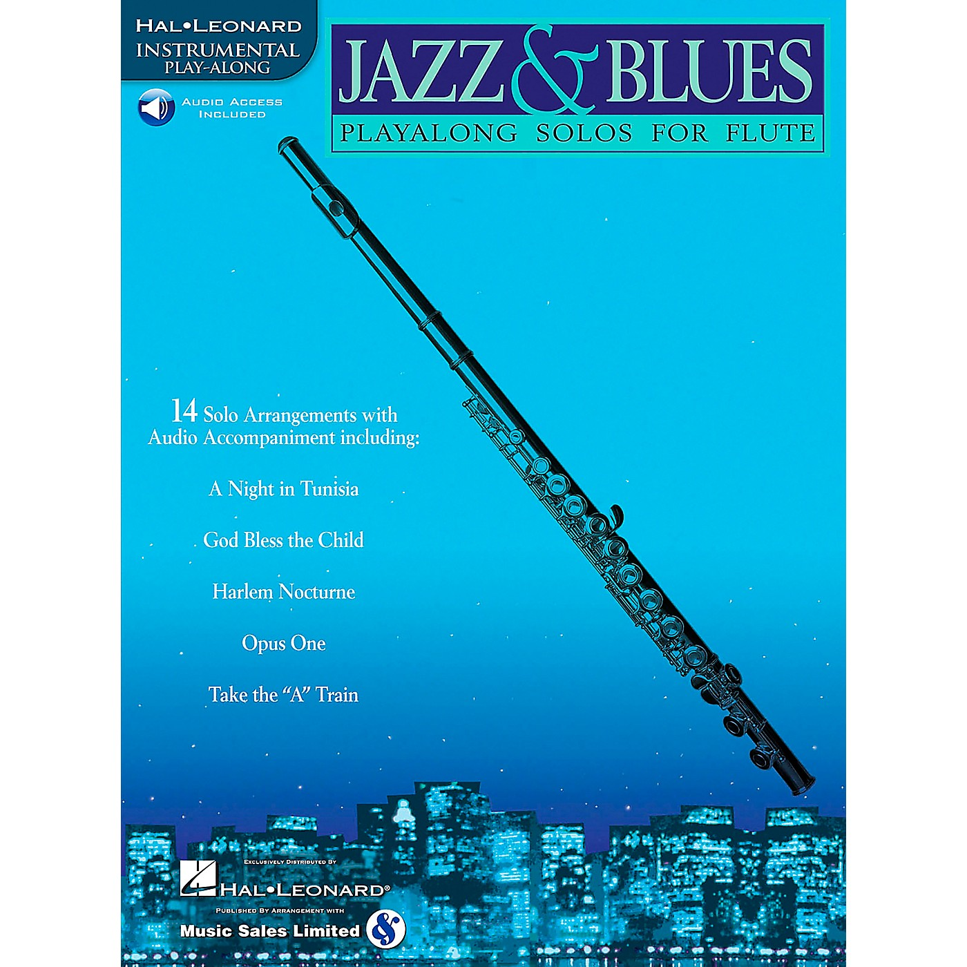 Hal Leonard Jazz And Blues Playalong Solos for Flute Book/CD thumbnail