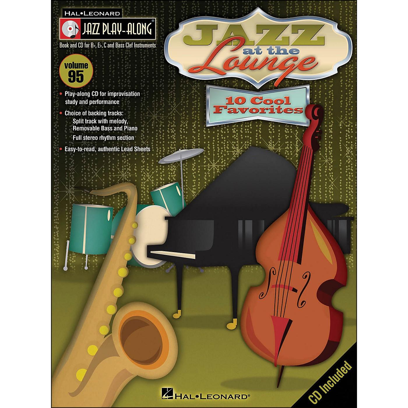 Hal Leonard Jazz At The Lounge - Jazz Play-Along Volume 95 (CD/Pkg) thumbnail