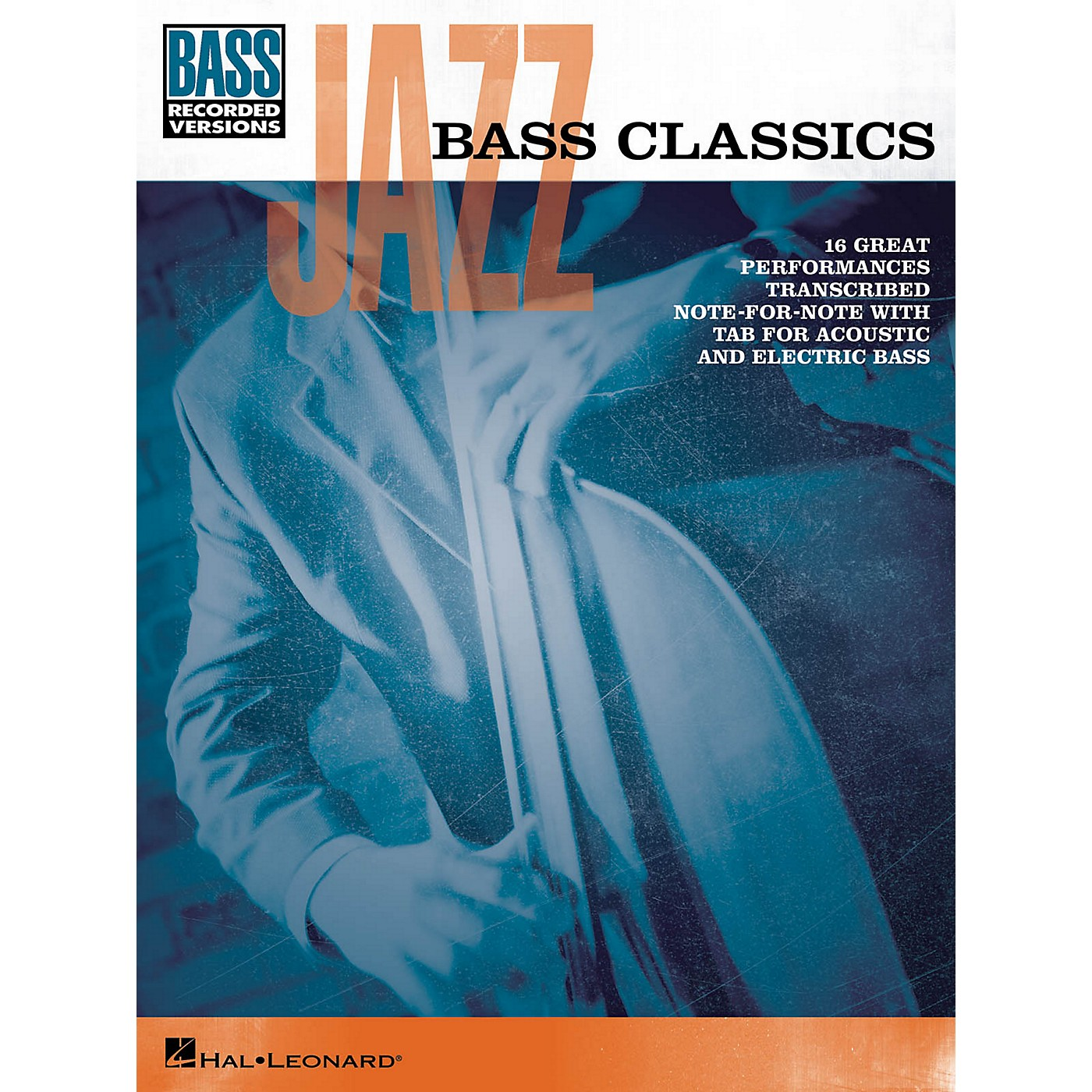 Hal Leonard Jazz Bass Classics Bass Tab Songbook thumbnail