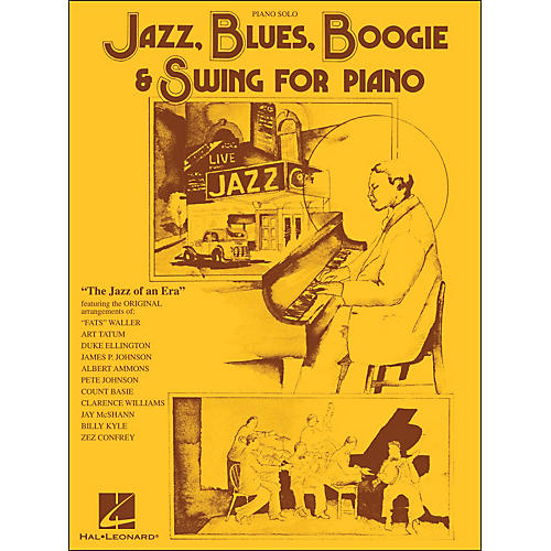 Hal Leonard Jazz, Blues, Boogie & Swing for Piano Solo thumbnail