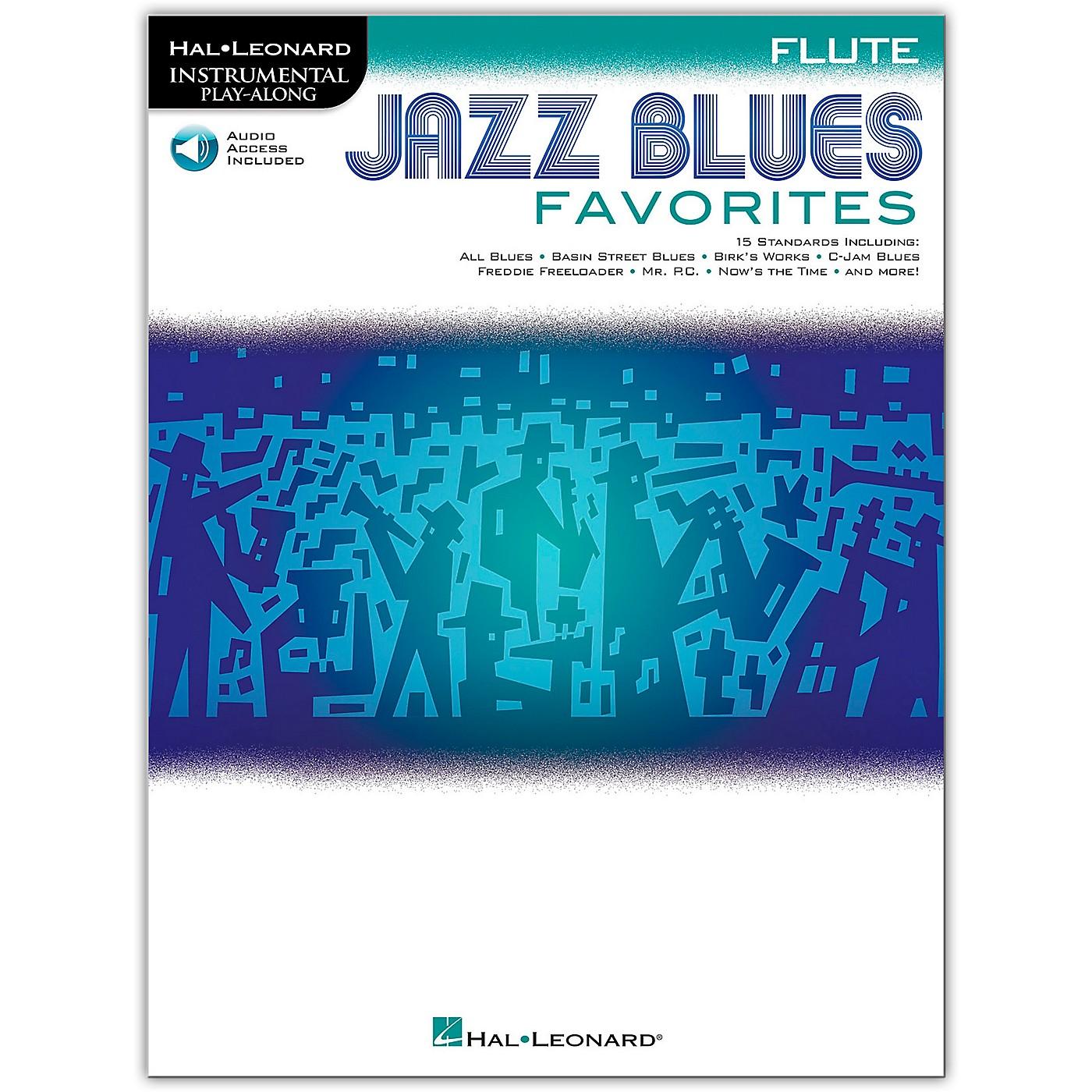 Hal Leonard Jazz Blues Favorites (Flute) Instrumental Play-Along Series Softcover Audio Online thumbnail