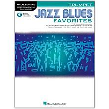 Hal Leonard Jazz Blues Favorites (Trumpet) Instrumental Play-Along Series Softcover Audio Online