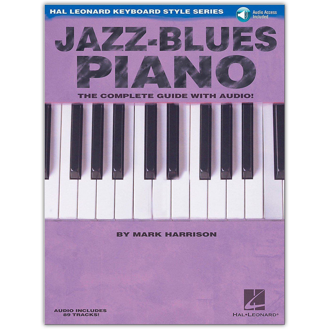 Hal Leonard Jazz-Blues Piano: The Complete Guide (Book/Online Audio) thumbnail