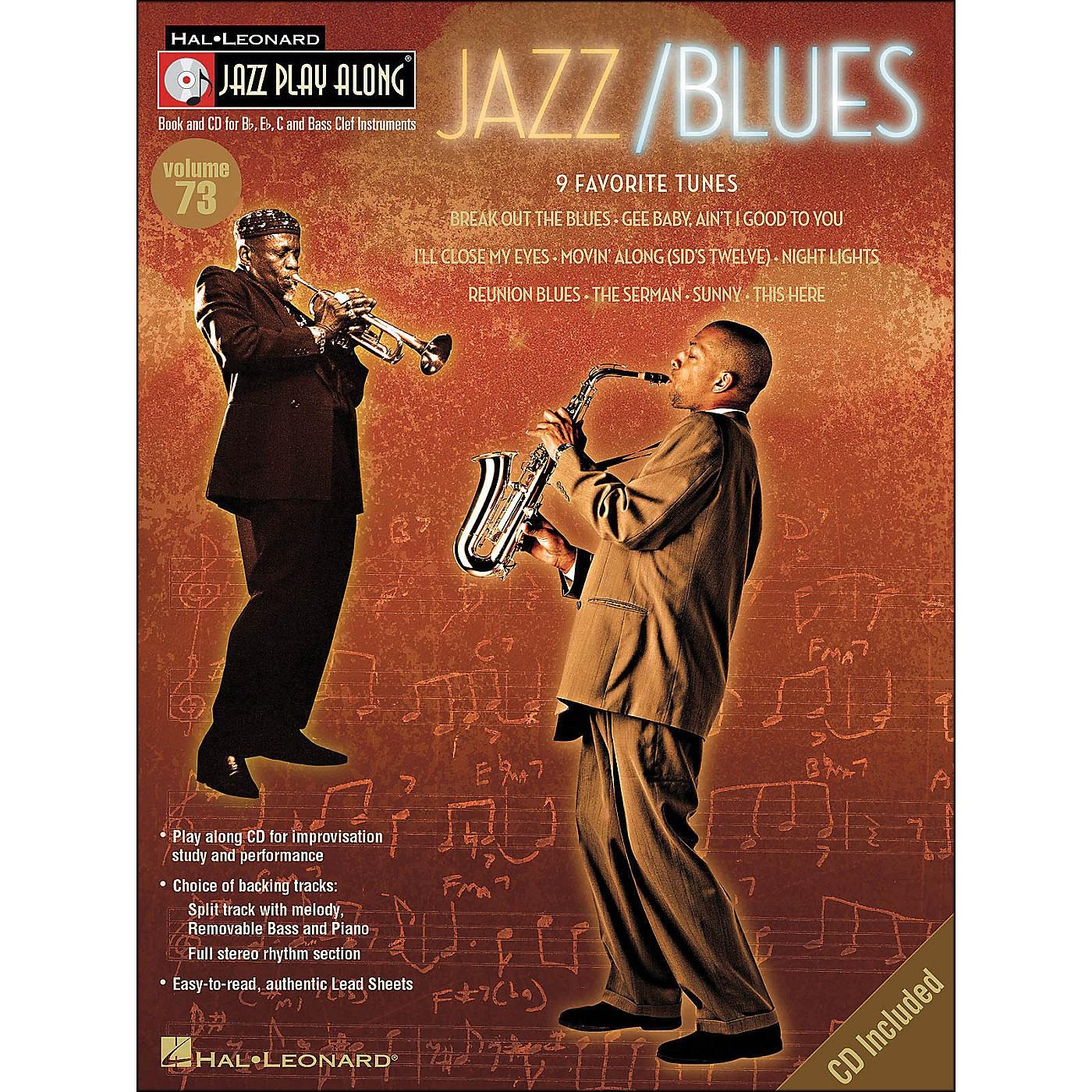 Hal Leonard Jazz/Blues Volume 73 Book/CD Jazz Play Along thumbnail