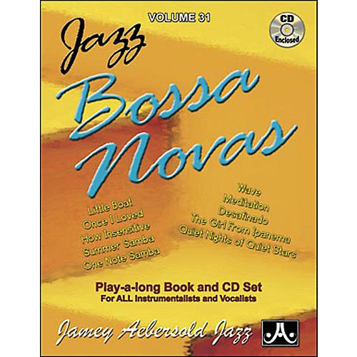 Jamey Aebersold Jazz Bossa Nova Play-Along Book with CD thumbnail