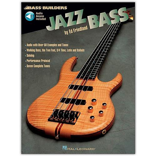 Hal Leonard Jazz Builders Jazz Bass (Book/Online Audio) thumbnail