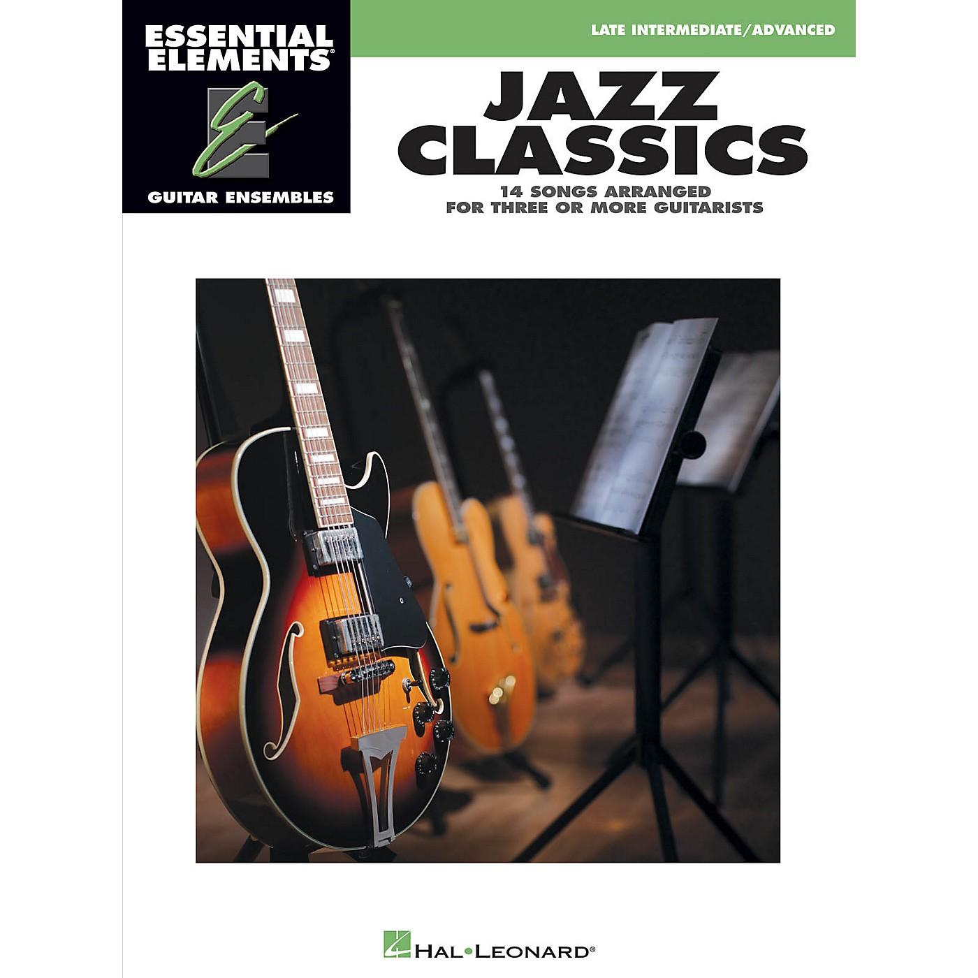 Hal Leonard Jazz Classics Essential Elements Guitar Series Softcover thumbnail