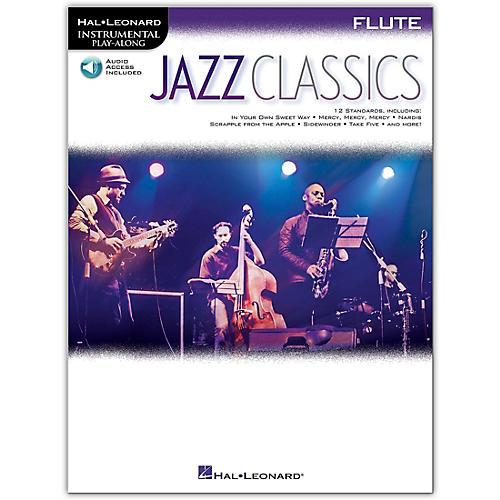 Hal Leonard Jazz Classics For Flute Insrumental Play Along Book/Audio Online thumbnail