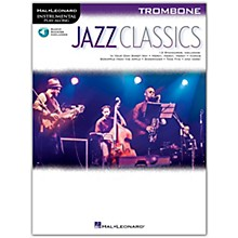 Hal Leonard Jazz Classics For Trombone Instrumental Play-Along Book/Audio Online