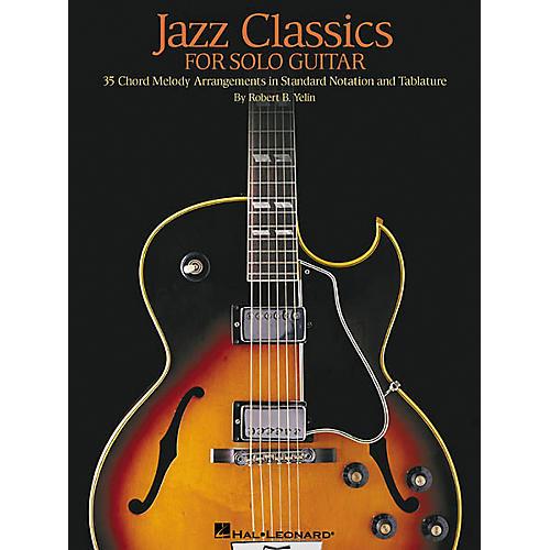 Hal Leonard Jazz Classics for Solo Guitar Book thumbnail