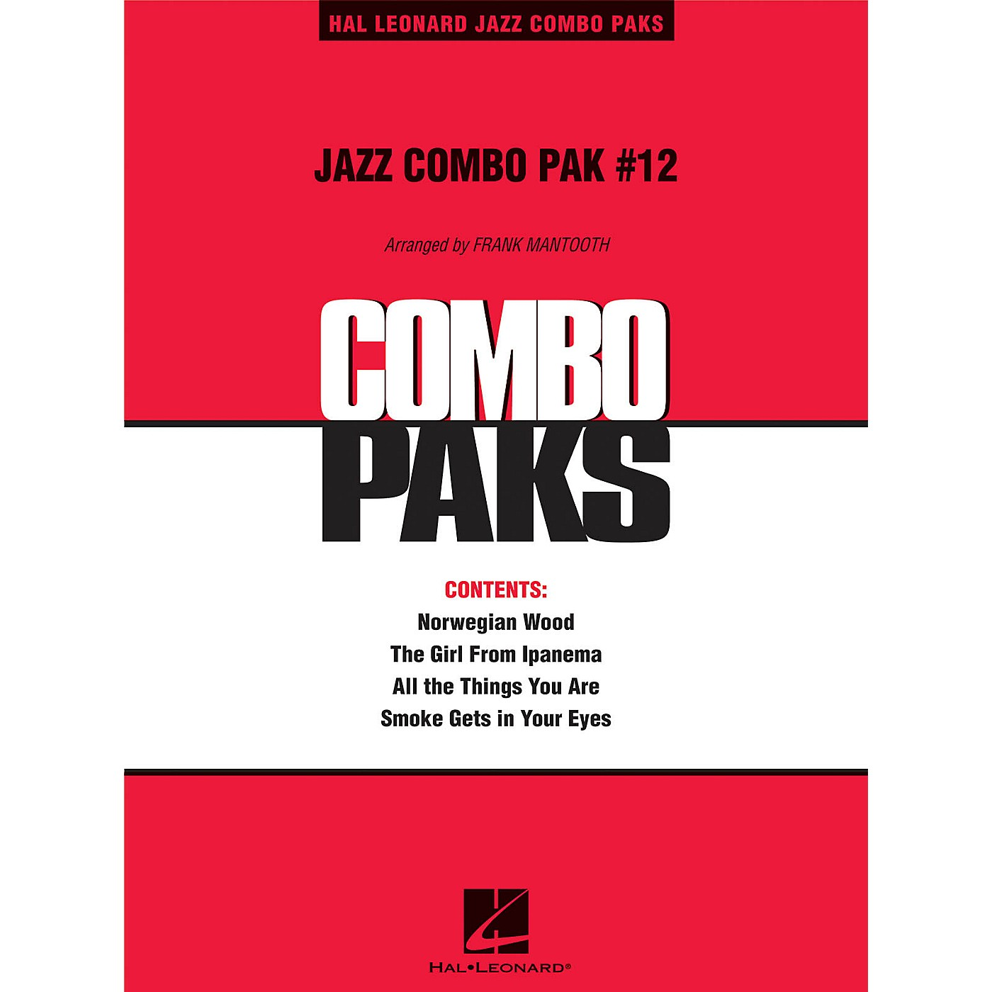 Hal Leonard Jazz Combo Pak #12 (with audio download) Jazz Band Level 3 Arranged by Frank Mantooth thumbnail