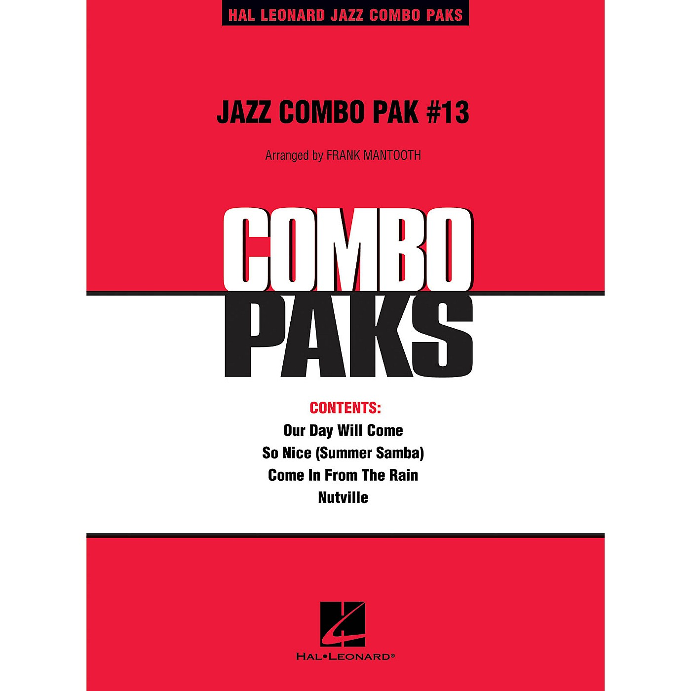 Hal Leonard Jazz Combo Pak #13 (with audio download) Jazz Band Level 3 Arranged by Frank Mantooth thumbnail