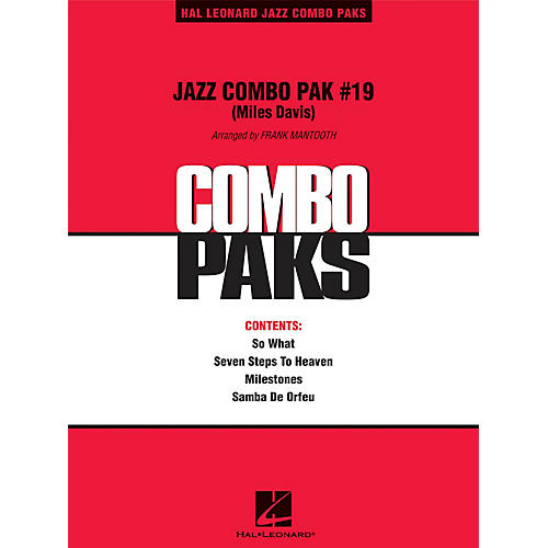 Hal Leonard Jazz Combo Pak #19 (Miles Davis) Jazz Band Level 3 by Miles Davis Arranged by Frank Mantooth thumbnail