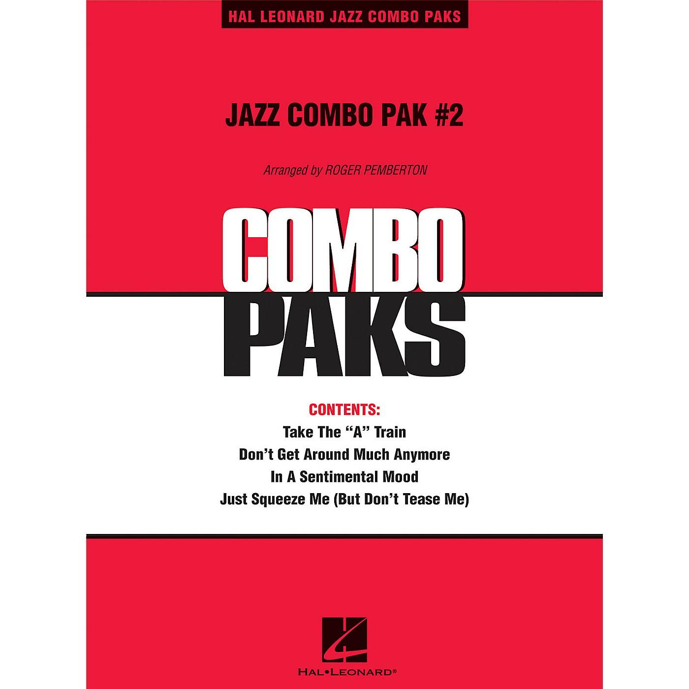 Hal Leonard Jazz Combo Pak #2 (with audio download) Jazz Band Level 3 Arranged by Roger Pemberton thumbnail