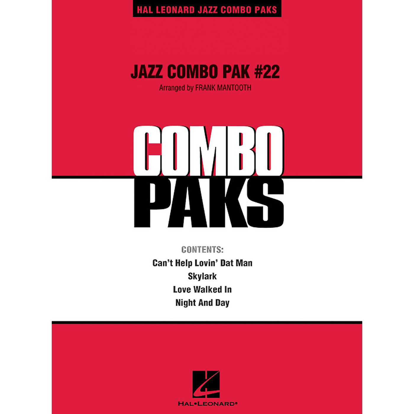 Hal Leonard Jazz Combo Pak #22 (with audio download) Jazz Band Level 3 Arranged by Frank Mantooth thumbnail