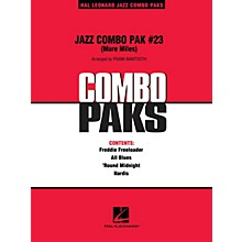 Hal Leonard Jazz Combo Pak #23 (More Miles Davis) Jazz Band Level 3 by Miles Davis Arranged by Frank Mantooth