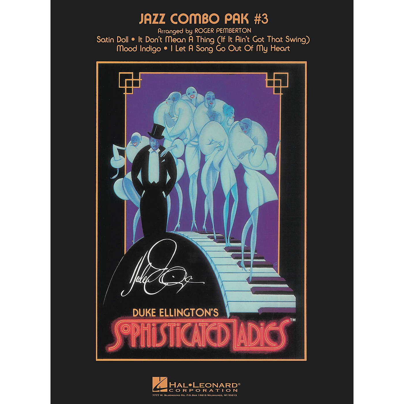 Hal Leonard Jazz Combo Pak #3 (with audio download) Jazz Band Level 3-4 Arranged by Roger Pemberton thumbnail