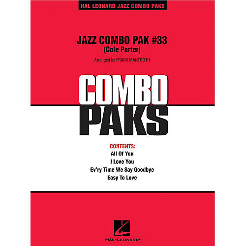 Hal Leonard Jazz Combo Pak #33 - Cole Porter Jazz Band Level 3 by Cole Porter Arranged by Frank Mantooth thumbnail