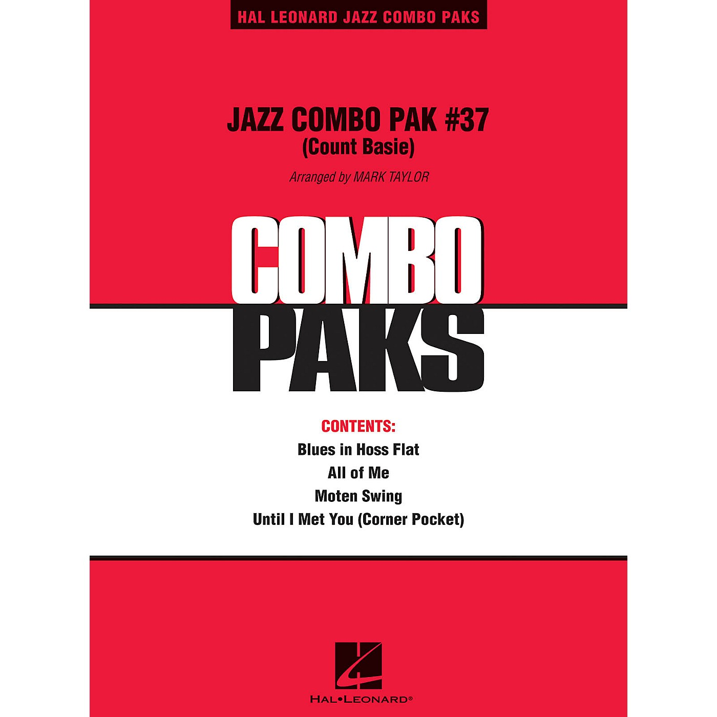 Hal Leonard Jazz Combo Pak #37 (Count Basie) Jazz Band Level 3 by Count Basie Arranged by Mark Taylor thumbnail
