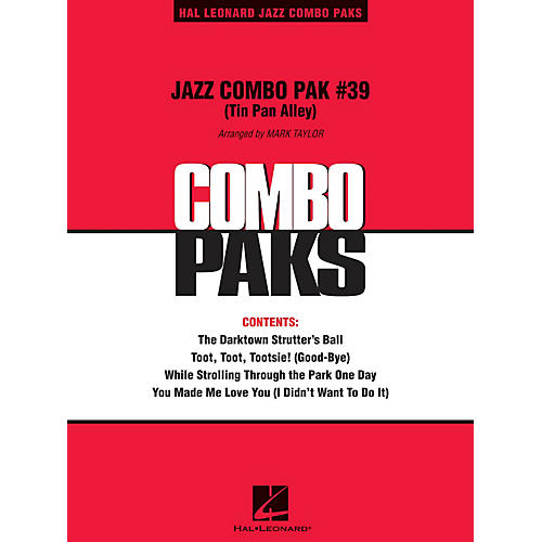 Hal Leonard Jazz Combo Pak #39 (Tin Pan Alley) (with audio download) Jazz Band Level 3 Arranged by Mark Taylor thumbnail