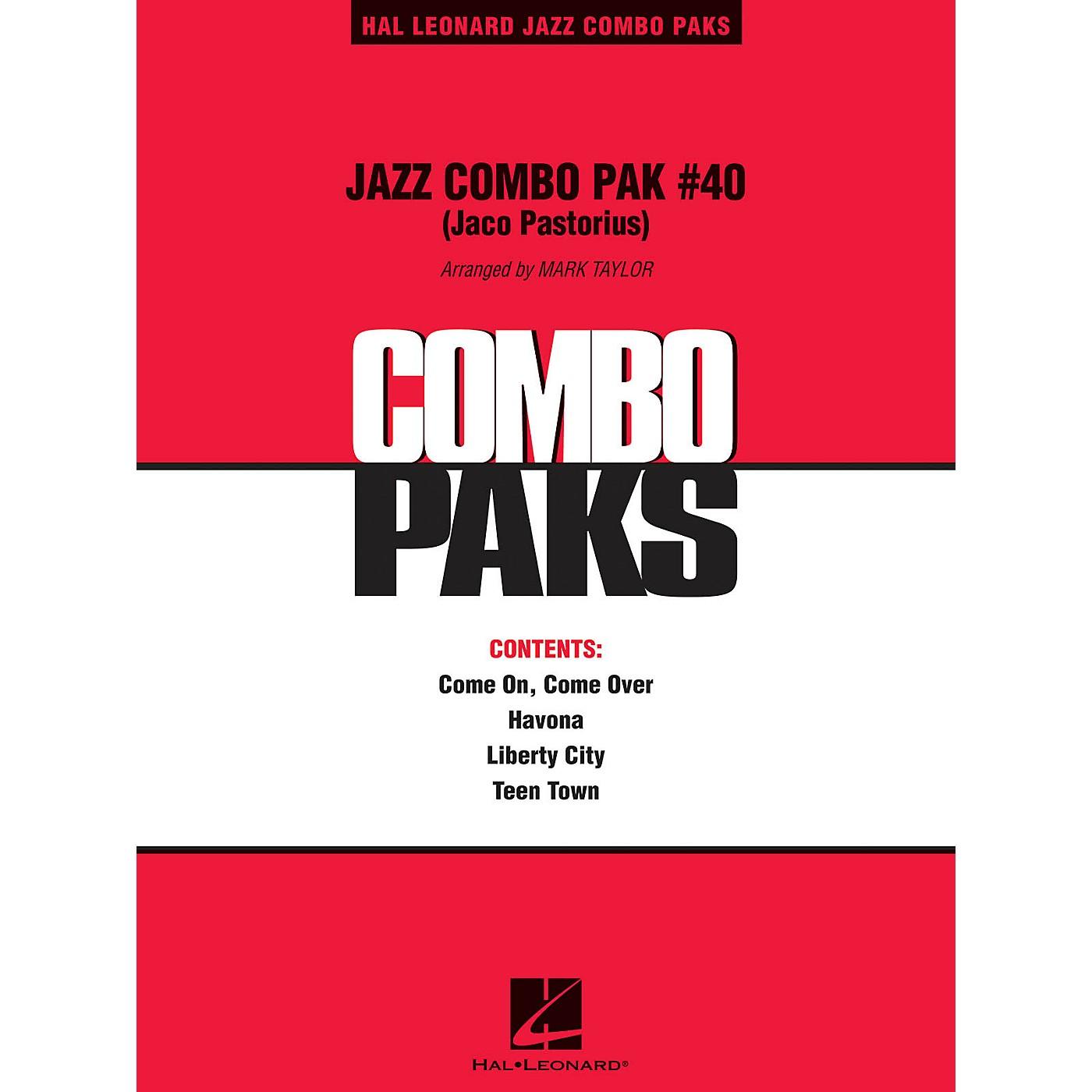 Hal Leonard Jazz Combo Pak #40 (Jaco Pastorius) Jazz Band Level 3 by Jaco Pastorius Arranged by Mark Taylor thumbnail