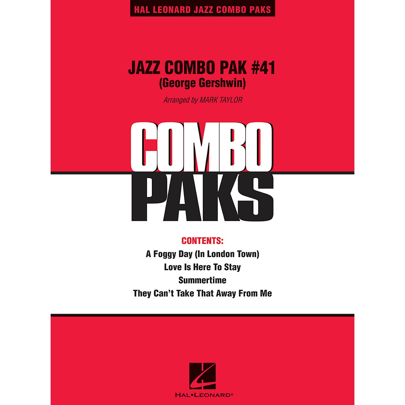 Hal Leonard Jazz Combo Pak #41 (George Gershwin) (with audio download) Jazz Band Level 3 Arranged by Mark Taylor thumbnail