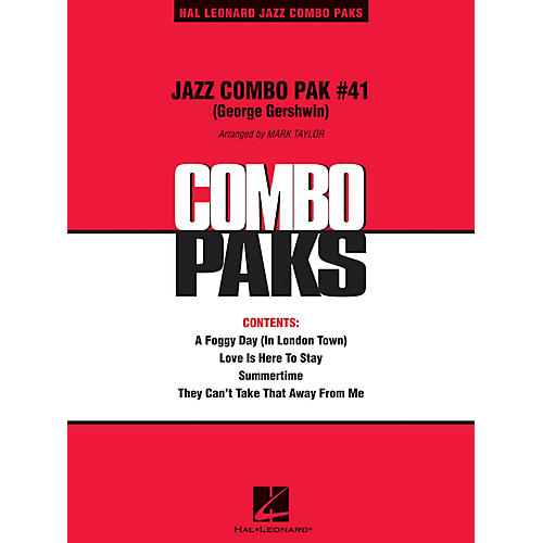 Hal Leonard Jazz Combo Pak #41 (George Gershwin) (with audio download) Jazz Band Level 3 Arranged by Mark Taylor thumbnail