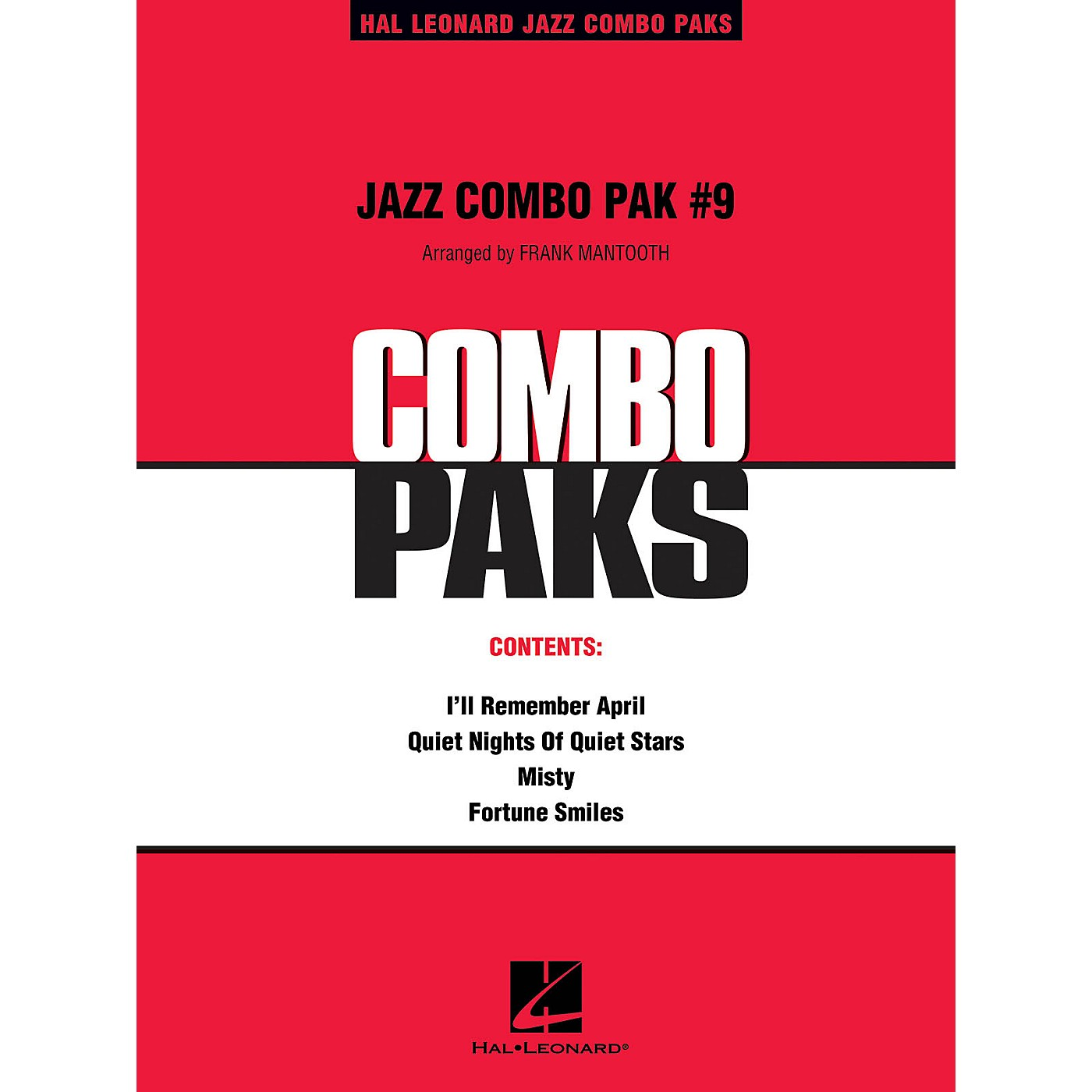 Hal Leonard Jazz Combo Pak #9 (with audio download) Jazz Band Level 3 Arranged by Frank Mantooth thumbnail