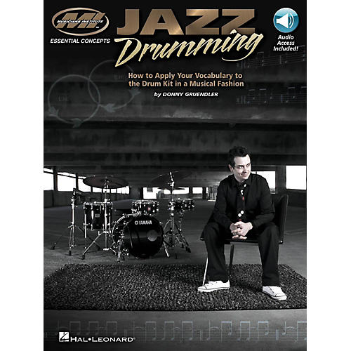 Hal Leonard Jazz Drumming - How to Apply Your Vocabulary the Drum Kit in a Musical Fashion (Book/Online Audio) thumbnail
