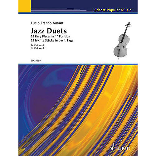 Schott Jazz Duets for Cello (25 Easy Pieces in First Position) String Series Softcover thumbnail