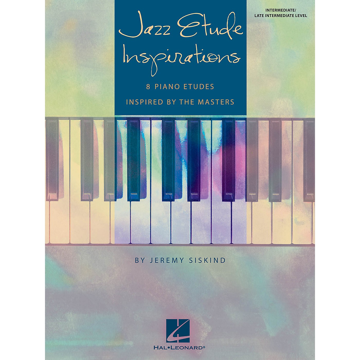 Hal Leonard Jazz Etude Inspirations Educational Piano Solo Book by Jeremy Siskind (Level Inter to Late Intermedi) thumbnail