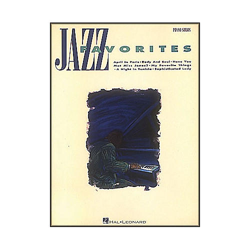 Hal Leonard Jazz Favorites arranged for piano solo thumbnail