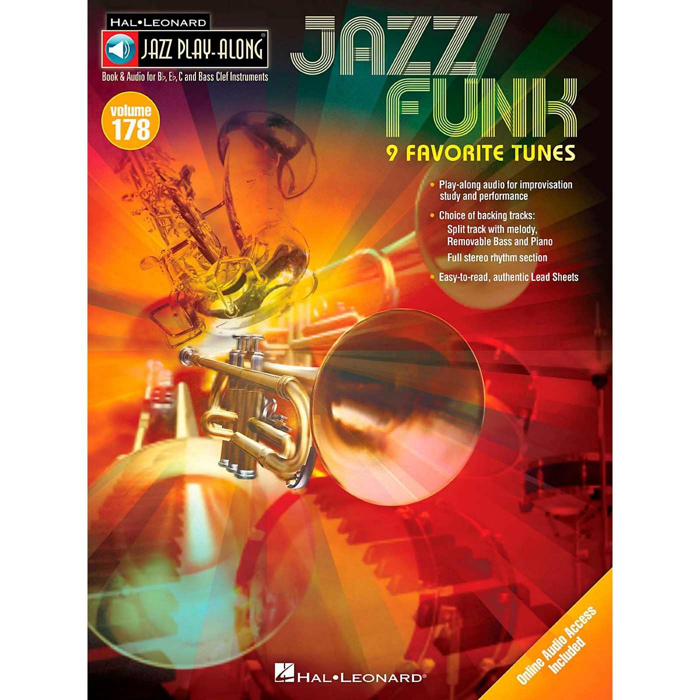 Hal Leonard Jazz/Funk - Jazz Play-Along Volume 178 Book/Online Audio thumbnail