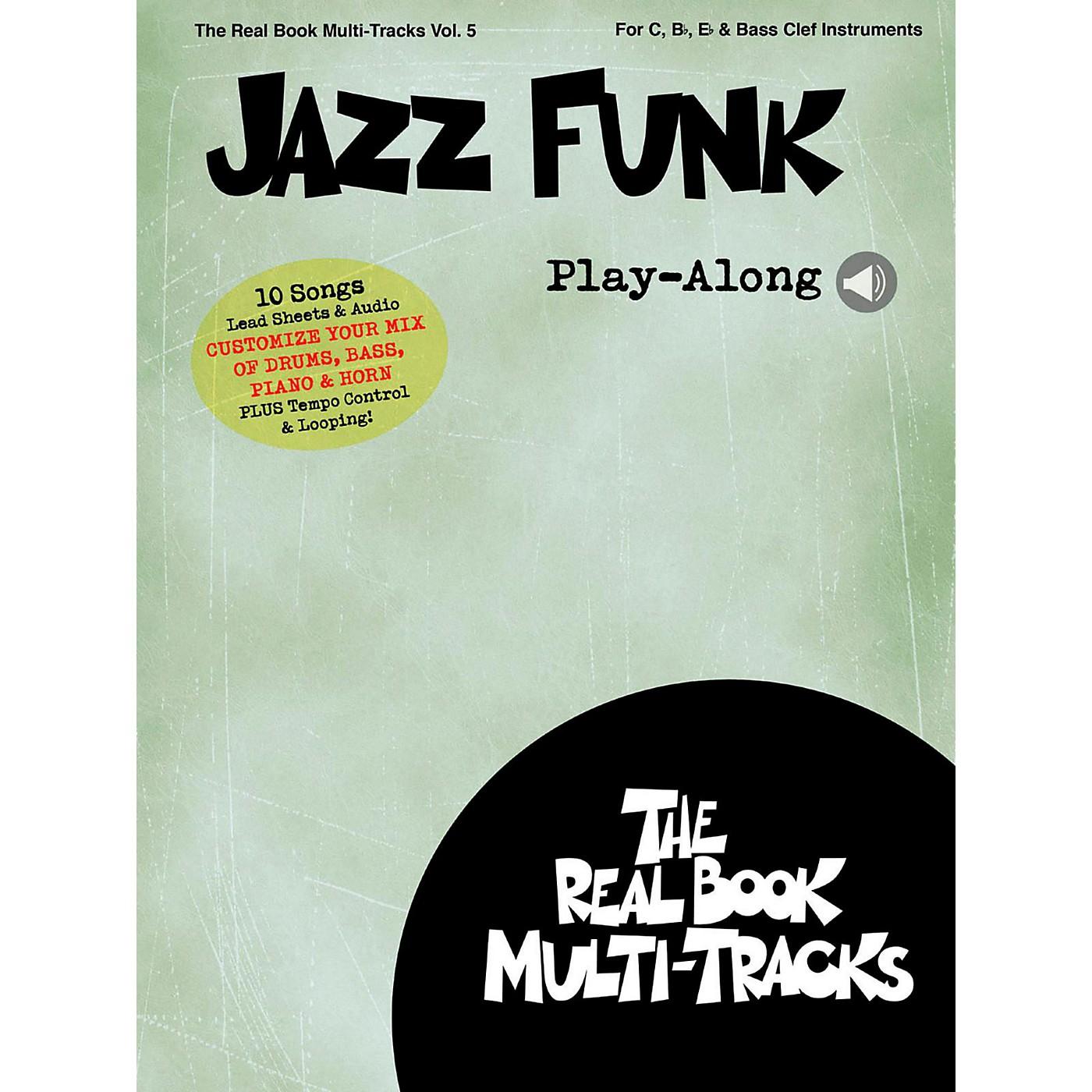 Hal Leonard Jazz Funk Play-Along - Real Book Multi-Tracks Vol. 5 thumbnail