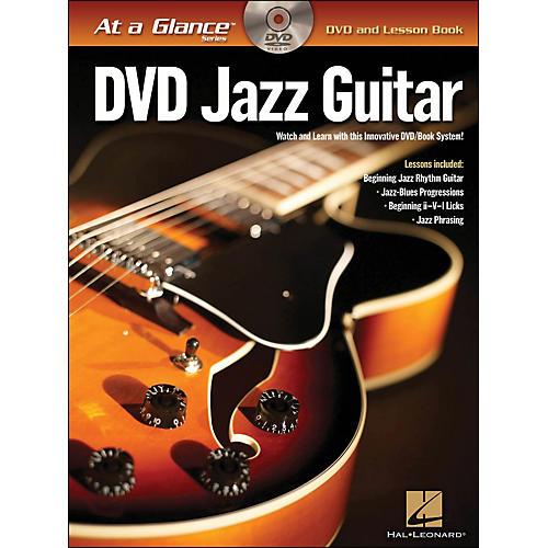 Hal Leonard Jazz Guitar - At A Glance (Book/DVD) thumbnail
