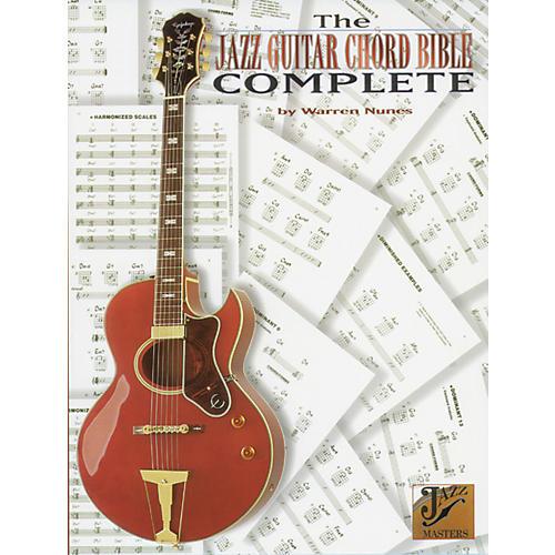 Alfred Jazz Guitar Chord Bible Book thumbnail