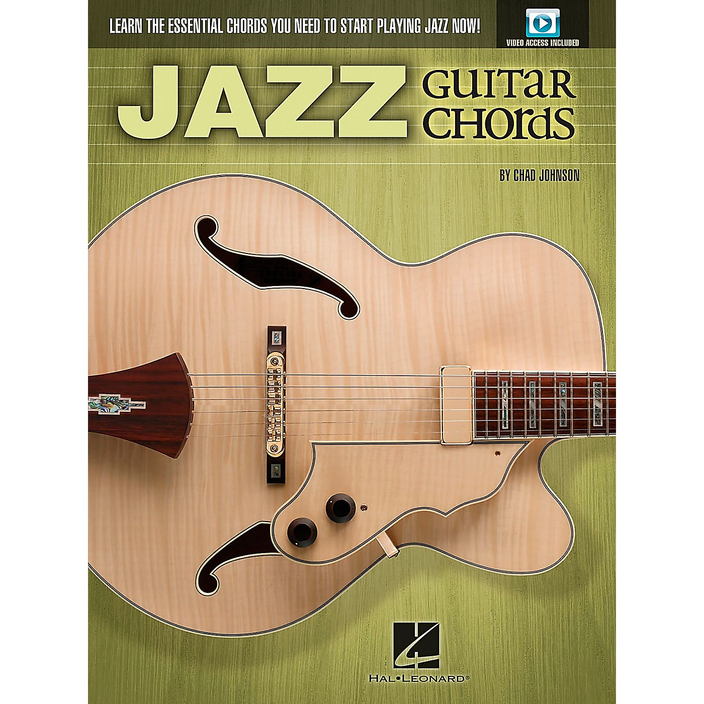 Hal Leonard Jazz Guitar Chords - Learn the Essential Chords You Need to Start Playing Jazz Now! Book/DVD thumbnail