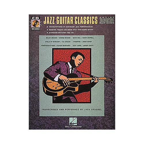 Hal Leonard Jazz Guitar Classics CD & Book-thumbnail