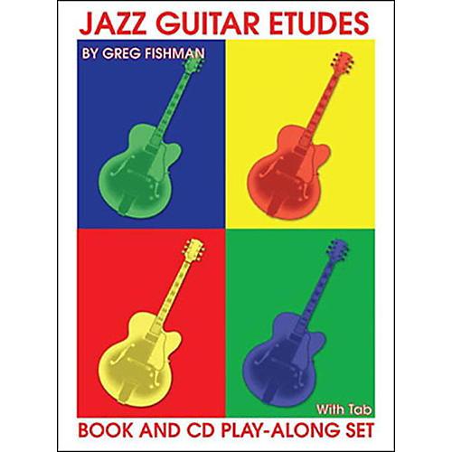 Jamey Aebersold Jazz Guitar Etudes thumbnail