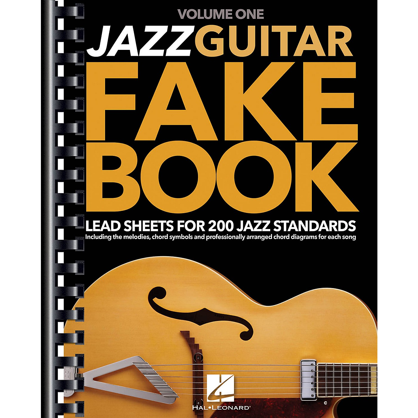Hal Leonard Jazz Guitar Fake Book - Volume 1 (Lead Sheets for 200 Jazz Standards) Guitar Book Series Softcover thumbnail