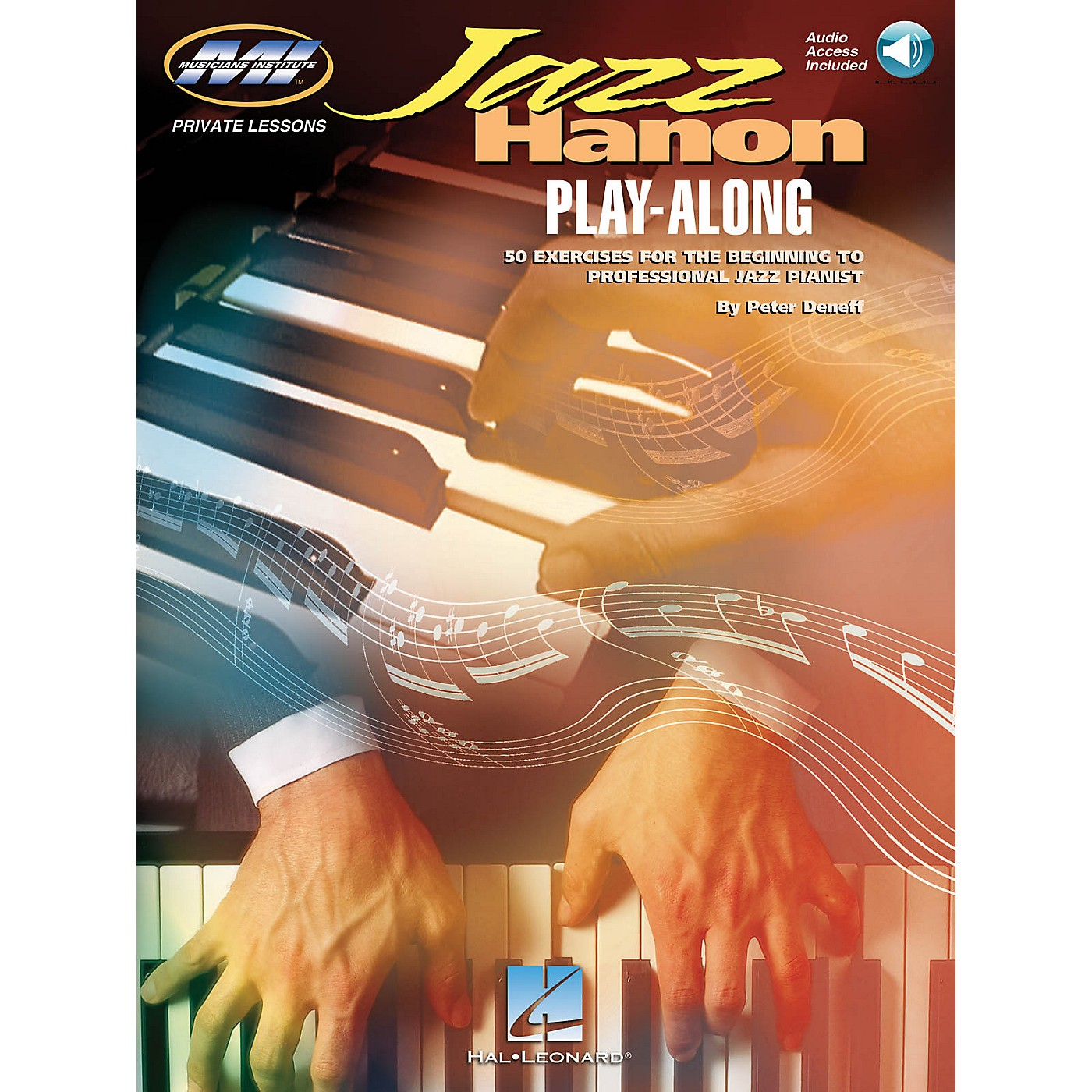 Musicians Institute Jazz Hanon (Play-Along Edition) Musicians Institute Press Series Softcover with CD by Peter Deneff thumbnail
