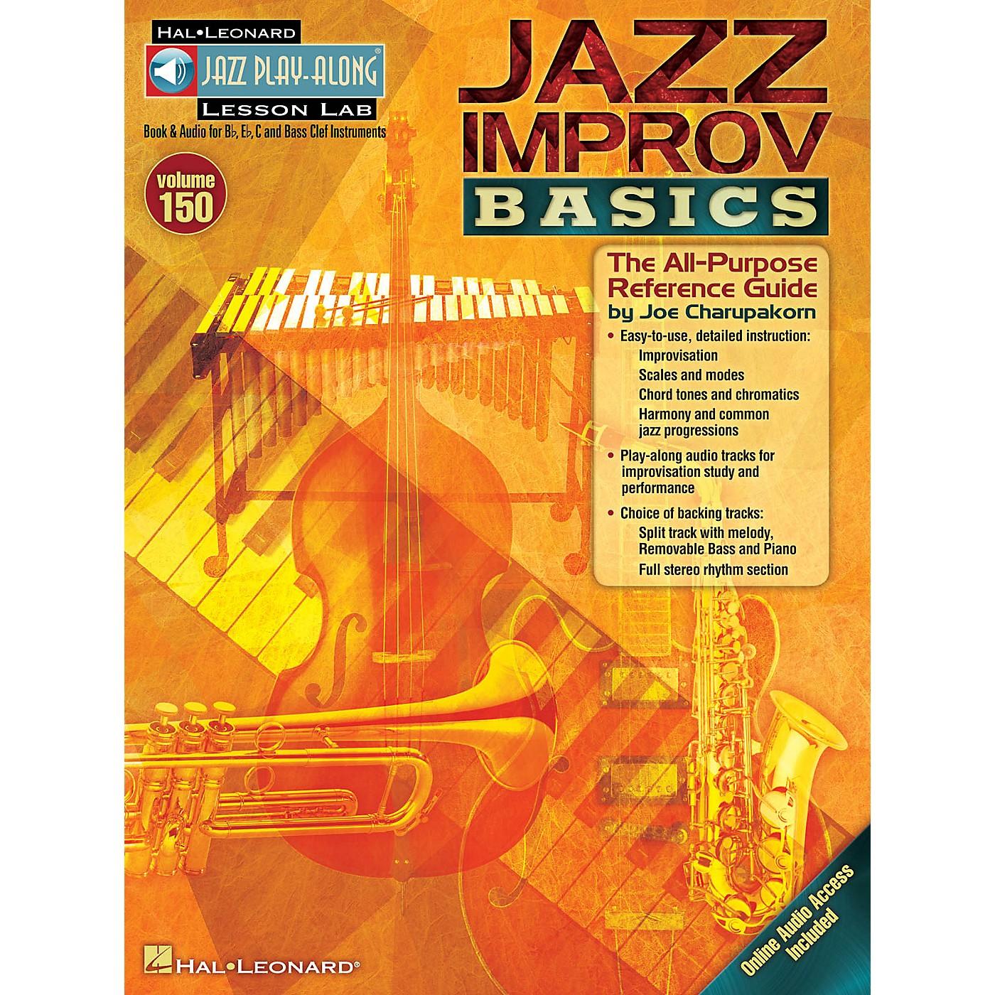 Hal Leonard Jazz Improv Basics Jazz Play Along Series Softcover Audio Online thumbnail