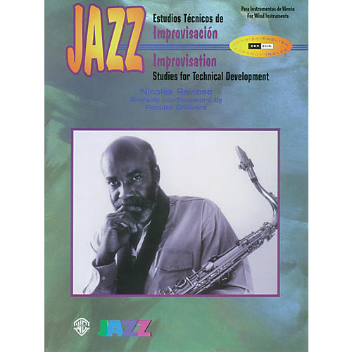 Alfred Jazz Improvisation: Studies for Technical Development for Woodwinds Book thumbnail
