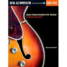 Berklee Press Jazz Improvisation for Guitar Book/CD