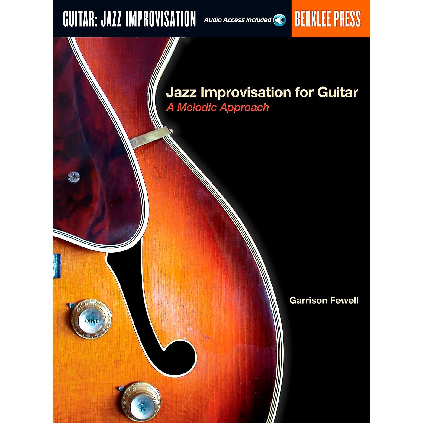Berklee Press Jazz Improvisation for Guitar Book/Online Audio thumbnail
