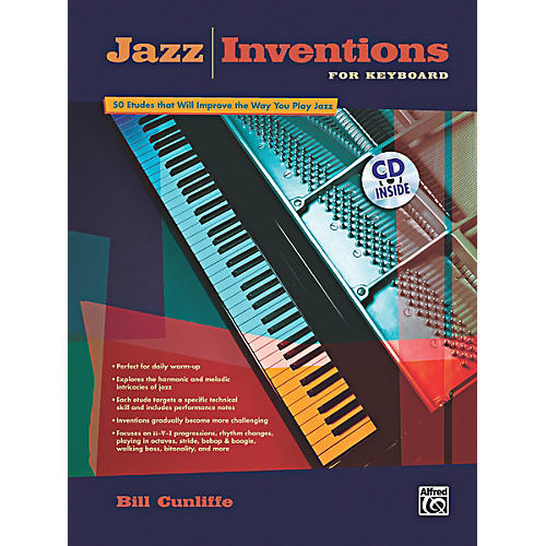 Alfred Jazz Inventions for Keyboard Book & CD thumbnail